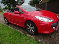 USED 2008 08 PEUGEOT 307 1.6 ALLURE COUPE CABRIOLET 2d 108 BHP TRADE CLEARANCE