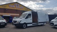 2017 MERCEDES-BENZ SPRINTER  314CDI L.W.B  140 BHP (( EURO 6 LONDON READY )) £13995.00