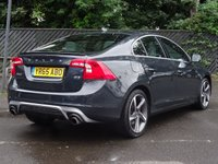 USED 2015 65 VOLVO S60 2.0 D3 R-DESIGN 4d 148 BHP Nav,Media,Cruise,Leather&Suede