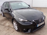 USED 2015 15 LEXUS IS 2.5 300H EXECUTIVE EDITION 4d AUTO 179 BHP 20POUNDTAX FSH SATNAV LEATHER