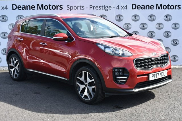 2017 17 KIA SPORTAGE 1.6 GT-LINE 5d 174 BHP 19in ALLOYS BIG SPEC