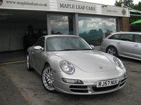 2007 PORSCHE 911 3.8 CARRERA 2 TIPTRONIC S 2d AUTO 355 BHP £29990.00