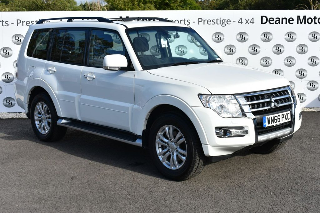 USED 2016 66 MITSUBISHI SHOGUN 3.2 DI-D SG3 5d AUTO 187 BHP BIG SPECIFICATION