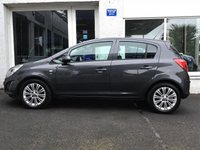 USED 2012 62 VAUXHALL CORSA 1.2 SE 5d 83 BHP STUNNING CORSA 5 DOOR IN GREY