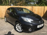 USED 2014 14 NISSAN NOTE 1.5 DCI TEKNA 5d 90 BHP Full Service History