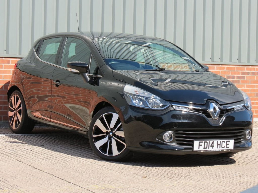 USED 2014 14 RENAULT CLIO 1.5 DYNAMIQUE S MEDIANAV ENERGY DCI S/S 5d 90 BHP FANTASTIC EXAMPLE WITH HIGH SPECIFICATION