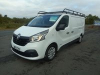 USED 2017 17 RENAULT TRAFIC 1.6 LL29 BUSINESS PLUS DCI 1d 120 BHP NO VAT 19000 MILES