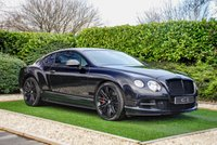 USED 2012 62 BENTLEY CONTINENTAL GT SPEED 6.0 GT 2d AUTO 567 BHP An Excellent Example with Full Bentley Service History and a High Specification, Enhanced Further by the Carbon Fibre Aero Kit. Luxuriously Appointed with a Black Diamond Quilted Leather Interior, Piano Black Veneers, Deep Pile Overmatts and Gloss Black 21 Inch Alloy Wheels. Features Include Heated / Ventilated Electric Seats with Memory, Lumbar Support & Massage Function, Contrast White Stitch and Embroidered Logos, Carbon Fibre Wing Mirrors, Front Splitter, Rear Diffuser, Boot Lip Spoiler,