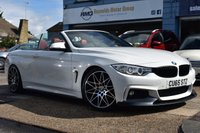 USED 2015 65 BMW 4 SERIES 2.0 420D M SPORT 2d AUTO 188 BHP COMES WITH 6 MONTHS WARRANTY