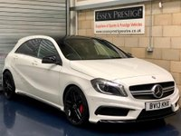 USED 2013 13 MERCEDES-BENZ A CLASS 2.0 A45 AMG Hatchback 5dr Petrol 7G-DCT 4MATIC (161 g/km, 360 bhp) +FULL SERVICE+WARRANTY+FINANCE