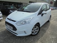 USED 2013 FORD B-MAX 1.4 ZETEC 5d 89 BHP Excellent Condition, FSH, Low Rate Finance Available, No Deposit Necessary, Part Ex Welcomed