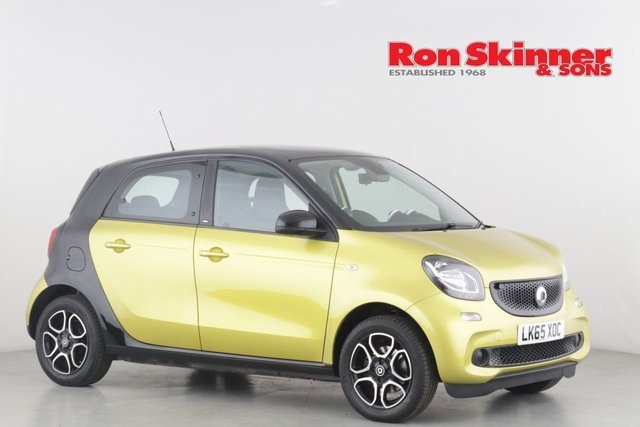 View our 2015 65 SMART FORFOUR 1.0 PRIME PREMIUM 5d 71 BHP