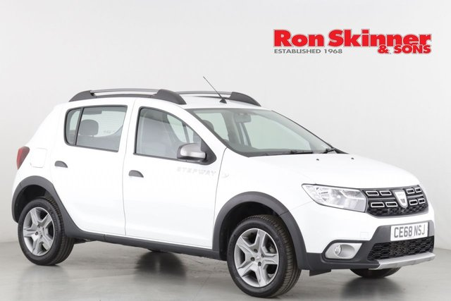 View our 2018 68 DACIA SANDERO 0.9 STEPWAY ESSENTIAL TCE 5d 90 BHP