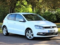 USED 2017 66 VOLKSWAGEN POLO 1.2 MATCH EDITION TSI 5d 89 BHP £162 PCM With £895 Deposit