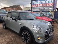 USED 2014 64 MINI HATCH COOPER 1.5 COOPER D 5d AUTO 114 BHP 1 OWNER , FULL SERVICE HISTORY, GREAT VALUE, 1/2 LEATHER, ALLOYS,BLUETOOTH