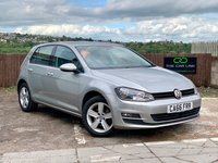 USED 2016 66 VOLKSWAGEN GOLF 1.6 MATCH EDITION TDI BMT 5d 109 BHP