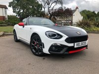 USED 2016 66 ABARTH 124 1.4 SPIDER MULTIAIR 2d 168 BHP £2865 OF FACTORY EXTRAS