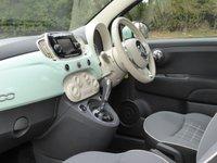 USED 2016 65 FIAT 500 1.2 LOUNGE DUALOGIC 3d AUTO 69 BHP