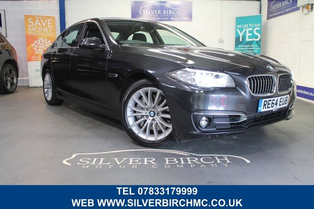 USED 2014 64 BMW 5 SERIES 3.0 535D LUXURY 4d AUTO 309 BHP 1 Owner, Finance Available