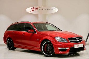 2012 MERCEDES-BENZ C CLASS 6.2 C63 AMG 5d AUTO PERFORMANCE PACK PLUS £26950.00