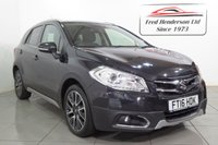 USED 2016 16 SUZUKI SX4 S-CROSS 1.6 SZ-T 5d AUTO 118 BHP AN EXCELLENT EXAMPLE, GENUINE LOW MILEAGE, ONE OWNER FROM NEW, FULL SERVICE HISTORY, COME WITH AN AUTOMATIC GEARBOX GREAT FOR CITY DRIVING, SPEC INCLUDES TOUCH SCREEN SAT NAV, BLUETOOTH, REVERSING CAMERA, PARKING SENSORS, ELECTRIC FOLDING MIRRORS, CRUISE CONTROL, .