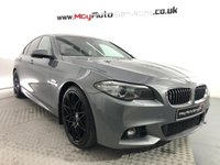 "USED 2015 BMW 5 SERIES 2.0 520D M SPORT 4d 188 BHP  *20"" ALLOY WHEELS, SAT NAV, HEATED SEATS*"