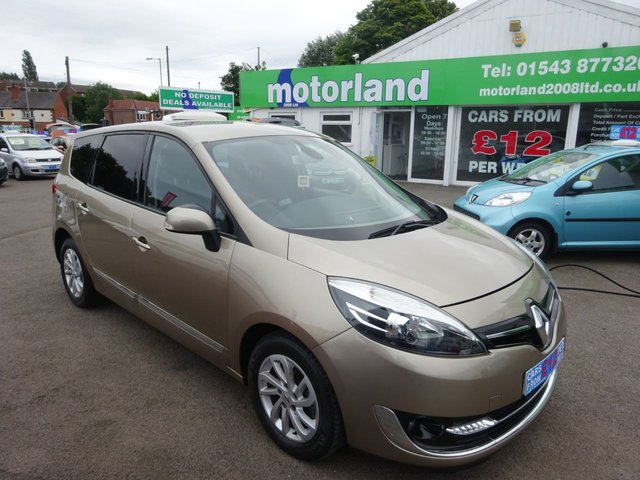 USED 2013 63 RENAULT GRAND SCENIC 1.6 DYNAMIQUE TOMTOM DCI S/S 5d 130 BHP **7 SEATER** DIESEL**..JUST ARRIVED..**FINANCE AVAILABLE**
