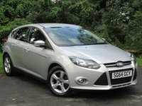 USED 2014 64 FORD FOCUS 1.6 ZETEC NAVIGATOR 5d AUTO * 128 POINT AA INSPECTED * 12 FREE AA MEMBERSHIP *