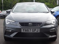 USED 2017 67 SEAT LEON 1.4 TSI FR TECHNOLOGY 5d 124 BHP 1 ONWER LOW MILEAGE HIGH SPECIFCATION EXAMPLE WITH FSH