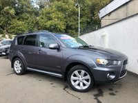 USED 2010 60 MITSUBISHI OUTLANDER 2.3 DI-D GX 3 5d MANUAL 175 BHP