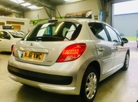 USED 2011 61 PEUGEOT 207 1.4 ACTIVE 5 DOOR low miles with fsh