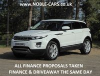 2013 LAND ROVER RANGE ROVER EVOQUE 2.2 SD4 PURE STYLE PACK 5d AUTO 190 BHP £17995.00