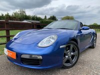 USED 2008 08 PORSCHE BOXSTER 2.7 24V 2d 242 BHP PCM SAT NAV SPORTS EXHAUST ADAPTIVE SUSPENSION SHORT SHIFT GEARBOX