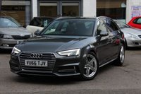 2016 AUDI A4 AVANT 2.0 TDI 190PS S-LINE ULTRA S-TRONIC AUTOMATIC ESTATE £18490.00