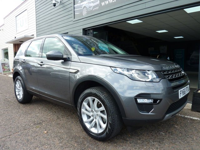 2016 66 LAND ROVER DISCOVERY SPORT 2.0 TD4 SE TECH 5d AUTO 180 BHP