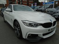 USED 2016 66 BMW 4 SERIES 2.0 420D M SPORT GRAN COUPE 4d AUTO 188 BHP ULEZ EXEMPT