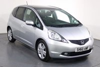 USED 2010 60 HONDA JAZZ 1.3 I-VTEC EX-T I-SHIFT 5d AUTO 98 BHP SAT NAV I BLUETOOTH I CRUISE