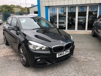 2015 BMW 2 SERIES 1.5 216D M SPORT ACTIVE TOURER 5d 114 BHP £9990.00