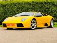 USED 2003 03 LAMBORGHINI MURCIELAGO 6.2 V12 COUPE 2d 572 BHP RHD RARE MANUAL LOW MILES VGC