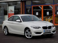 USED 2016 66 BMW 2 SERIES 1.5 218i SE 2dr **Sat Nav + Bluetooth**
