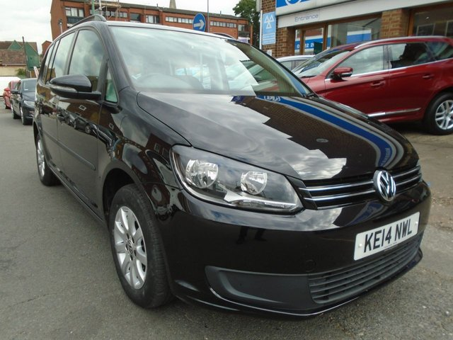 2014 14 VOLKSWAGEN TOURAN 1.6 S TDI BLUEMOTION TECHNOLOGY DSG 5d AUTO 106 BHP