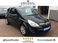 USED 2012 62 VAUXHALL CORSA 1.2 ACTIVE AC 3d 83 BHP