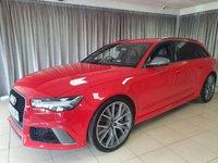USED 2016 66 AUDI A6 4.0 RS6 PLUS AVANT TFSI QUATTRO 5d AUTO 597 BHP