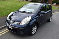2006 NISSAN NOTE 1.6 SE 5d AUTO 109 BHP £SOLD