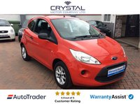 USED 2013 13 FORD KA 1.2 STUDIO PLUS 3d 69 BHP