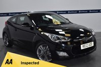 USED 2012 12 HYUNDAI VELOSTER 1.6 GDI SPORT 4d 140 BHP (SPORTS LEATHER INTERIOR)