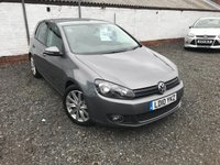 USED 2010 10 VOLKSWAGEN GOLF 2.0 GT TDI 5d 138 BHP FULL DEALER HISTORY-10 STAMPS-BLUETOOTH-PARKING SENSORS-DIESEL