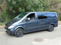 2005 MERCEDES-BENZ VITO 111 2.1CDI 109 BHP LONG LWB 6 SEATER CREW/PANEL VAN £2950.00