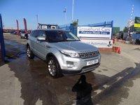 USED 2012 12 LAND ROVER RANGE ROVER EVOQUE 2.2 SD4 PRESTIGE LUX 5d AUTO 190 BHP