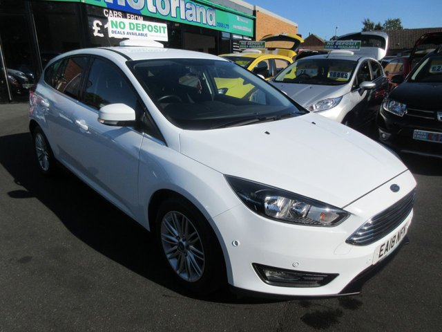 USED 2018 18 FORD FOCUS 1.0 ZETEC EDITION 5d AUTO 124 BHP ** JUST ARRIVED ** AUTOMATIC**